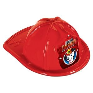Red Plastic Jr Firefighter Hats (CLEARANCE)