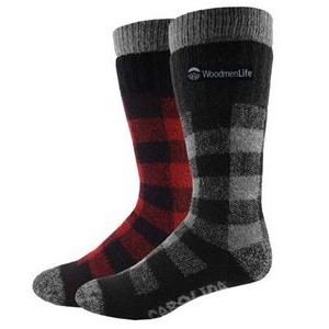 Men's Fashion Plus-Carolina Merino Wool Thick Socks