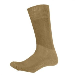 Coyote Brown Cushion Sole Boot Socks